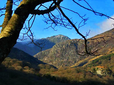 View of Snowdon from NantGwynant